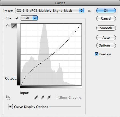 Curves à go-go: assign 1.5 sRGB profile, Multiply, Mask – all in one go.