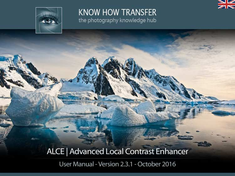 ALCE Advanced Local Contrast Enhancer. User Manual Front-page