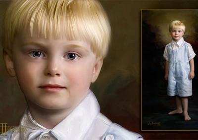 William Branson III – Portfolio di Ritratto Artistico