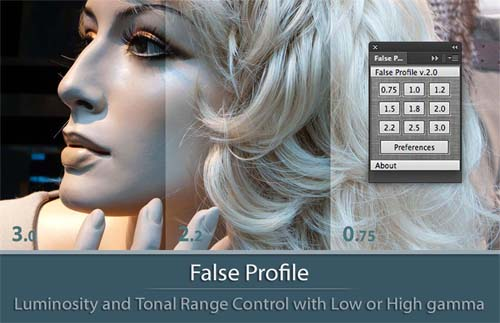 False Profile | Luminosity and Tonal Range Control with Low and High Gamma