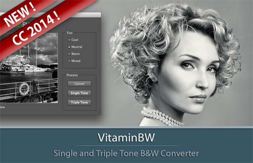 VitaminBW | Single and Triple Tone B&W Converter