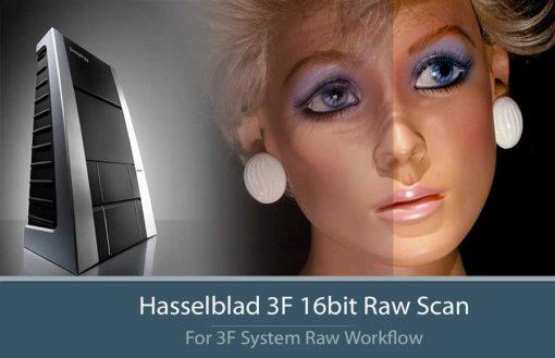 Hasselblad 3F 16bit Raw Scan and Flextight X5
