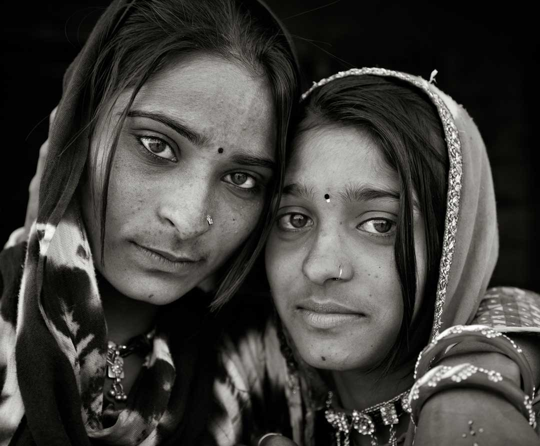 Young couple from the Rajashtan Portfolio by Shari Hartbauer