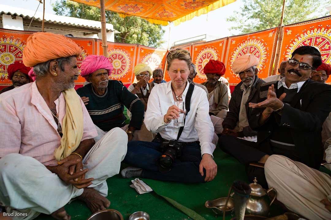 Shari during the Opium Ceremony