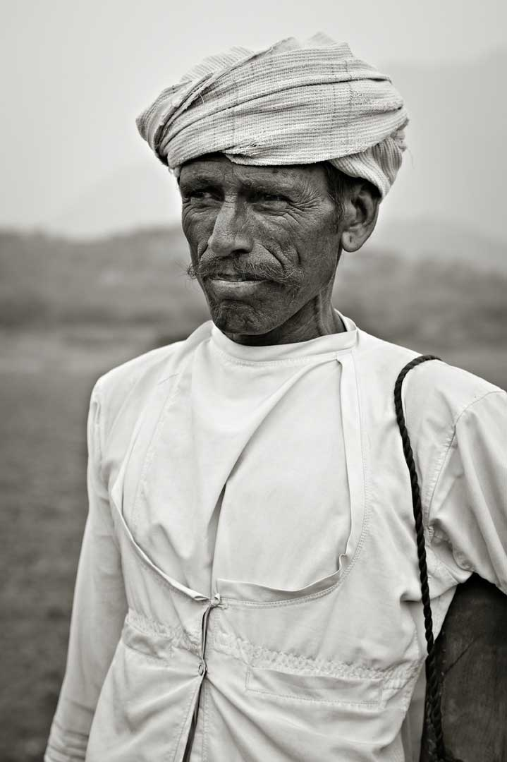 Man fom the Rajashtan Portfolio by Shari Hartbauer