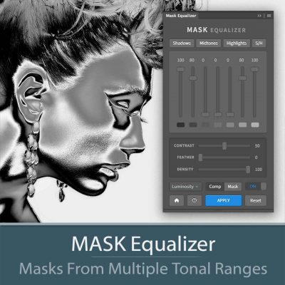 MASK Equalizer Photoshop extension