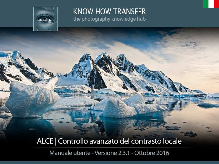 ALCE Local Contrast Enhancer. Copertina manuale utente