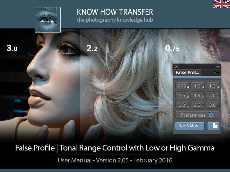 False Profile. User Manual Front-page