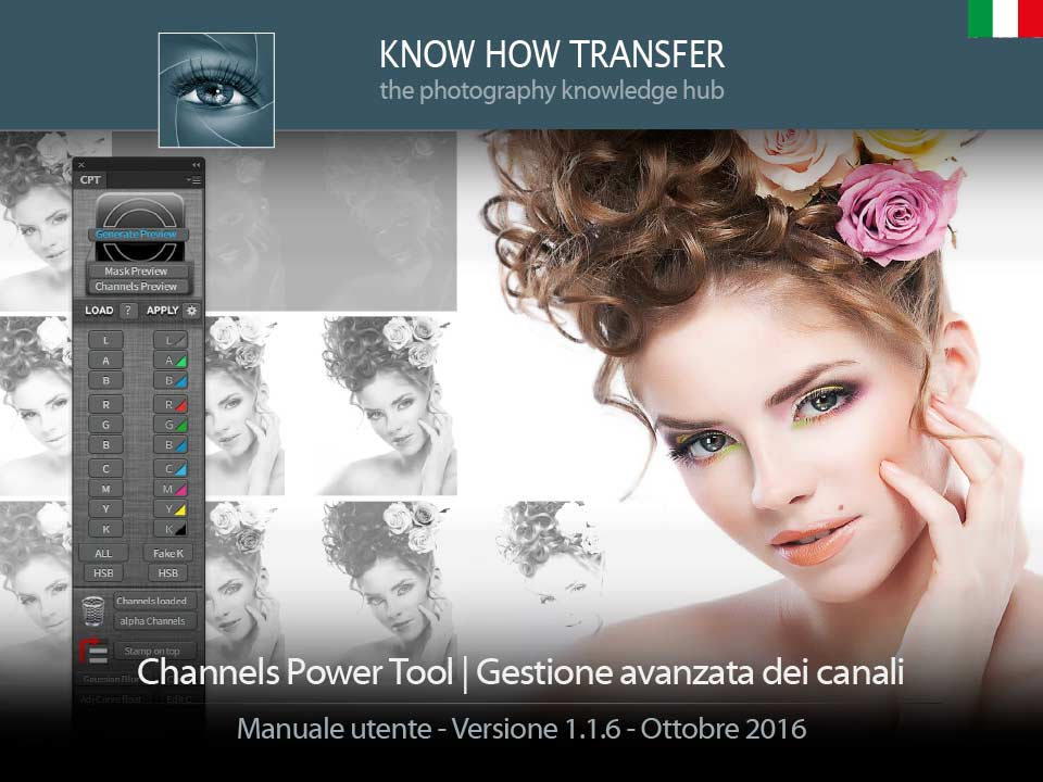 Channels Power Tool. Copertina manuale utente
