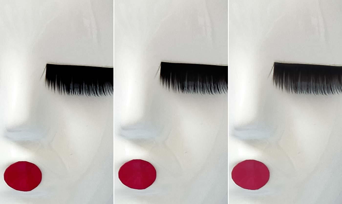 Mask blurring 0 vs 35 with Mask Equalizer. Mask Equalizer Training Page