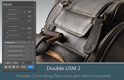 Double USM 2 Plugin for Photoshop