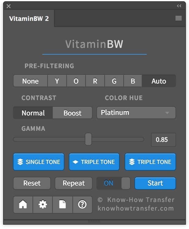 VitaminBW 2 Panel