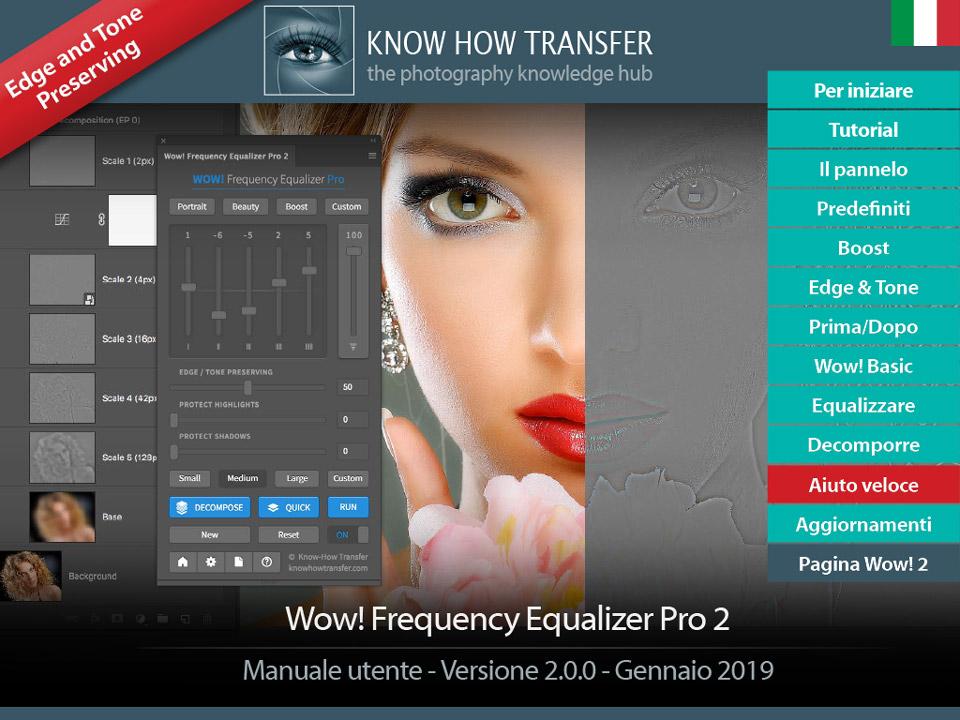 Il manuale utente interattivo di Wow! Frequency Equalizer Pro 2