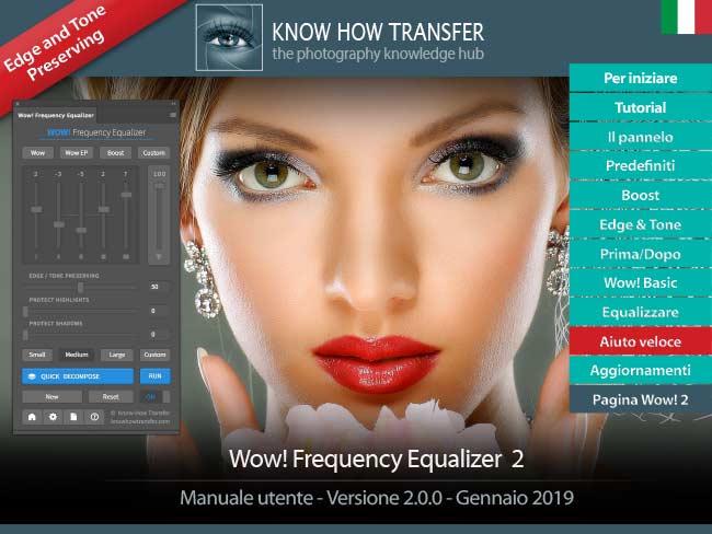 Il manuale utente interattivo di Wow! Frequency Equalizer 2