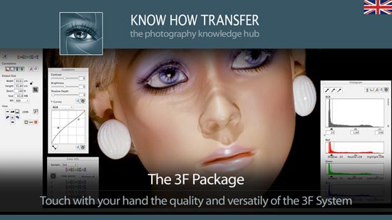 The hasselblad-Imacon 3f Package by Know-How Transfer